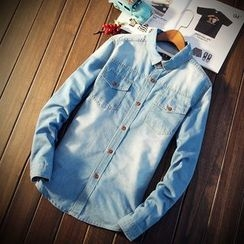 Masowild - Fleece Lined Denim Jacket