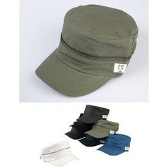 STYLEMAN - Zipped Military Cap