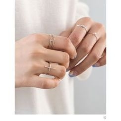 PINKROCKET - Bar-Accent Ring