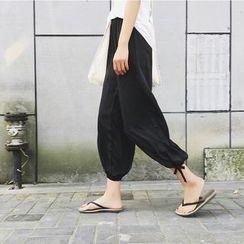 Meimei - 低胯九分褲