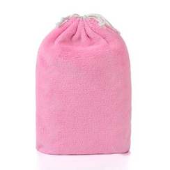 Matty's Macaron - Fleece Drawstring Bag