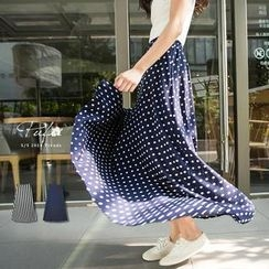 PUFII - Patterned Maxi Skirt (2 Designs)