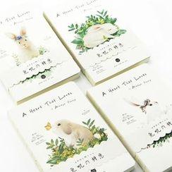 Milena - Rabbit Print A5 Notebook