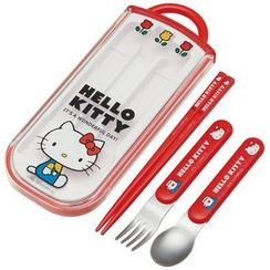 Skater - Hello Kitty Cutlery Set