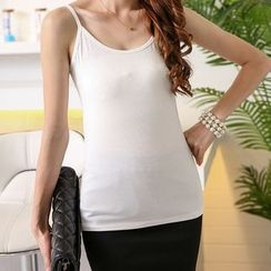 Pearlescent - Cotton Camisole Top