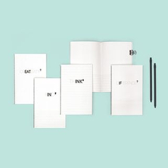 LIFE STORY - Set of 4: Lettering Notebook (S)