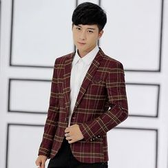 LIBIN - Plaid Blazer