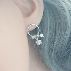 Love Generation - Crystal Sterling Silver Earrings
