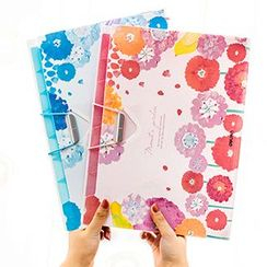 Show Home - Floral Print Document Folder