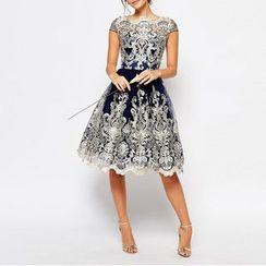 Charlotte - Lace Prom Dress