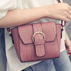 Clair Fashion - Buckled Shoulder Bag