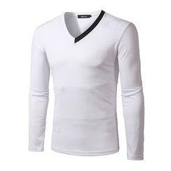 Fireon - Long Sleeve V-Neck T-Shirt