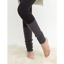 GUMZZI - Knit-Trim Leggings