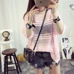 Riso Rosso - Open Knit Sweater