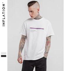 Newin - Short-Sleeve Zip T-Shirt