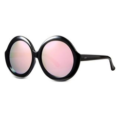 MOL Girl - Over-sized Round Sunglasses