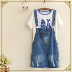 Fairyland - Denim Jumper Skirt