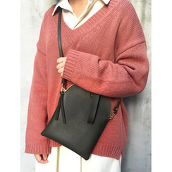 FROMBEGINNING - Faux-Leather Flat Tote