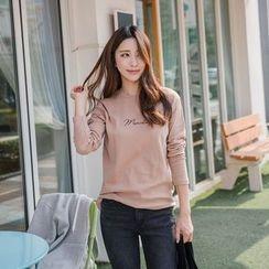 WITH IPUN - Brushed-Fleece T-Shirt