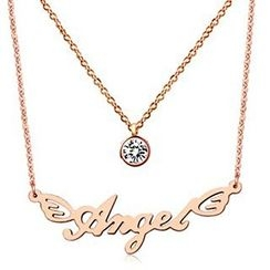 Nanazi Jewelry - Lettering Necklace