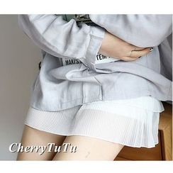 CherryTuTu - Pleated Panel Undershorts