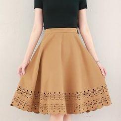 Tokyo Fashion - Cutout Skirt