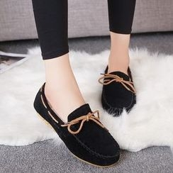 Danso - Faux Suede Loafers