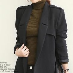 NANING9 - Notch-Lapel Trench Coat