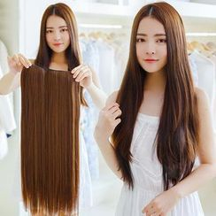 SEVENQ - Clip-on Hair Extension - Straight
