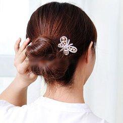 Missy Missy - Rhinestone Butterfly Hair Pin