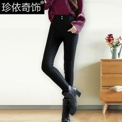 Jenny's Couture - Fleece-Lined Skinny Jeans