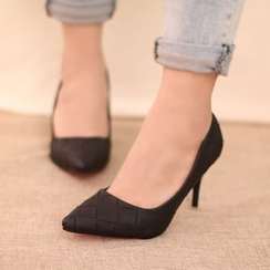 IYATO - 編織高跟鞋