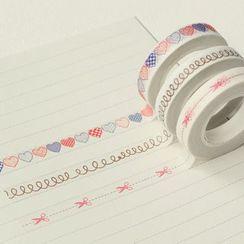 Paper House - 印花美纹纸胶带