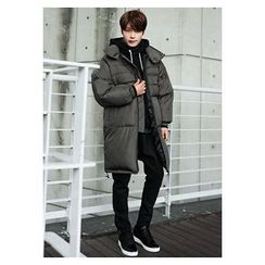 HOTBOOM - Stand-Collar Puffer Coat