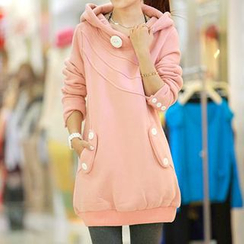 JVL - Hooded Pullover Dress