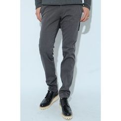 Ohkkage - Brushed-Fleece Lined Pants