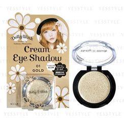 Koji - Dolly Wink Cream Eye Shadow (#01 Gold)