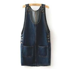 Pretty Daze - Denim Jumper Skirt