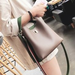 Youshine - Faux Leather Crossbody Bag