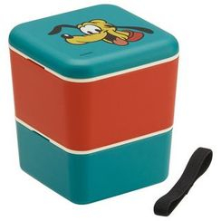 Skater - Pluto 2 Layer Square Lunch Box
