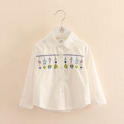 Seashells Kids - Kids Embroidered Blouse