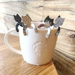 Catshere - Stainless Steel Cat Coffee Spoon
