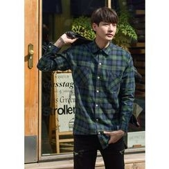 GERIO - Long-Sleeve Check Shirt