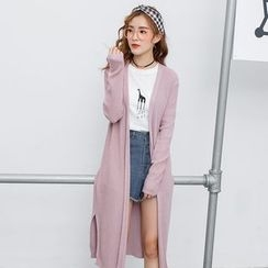 Kofushi - Open Front Long Cardigan