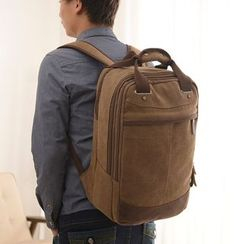 Filio - Square Canvas Backpack