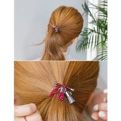 soo n soo - Colored Tasseled Hair Tie