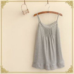 Fairyland - Lace Panel Camisole Top