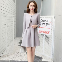 NINETTE - Set: Plain Blazer + Dress