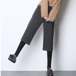 Coolvibe - Inset Cropped Pants Leggings