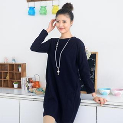 59 Seconds - Long-Sleeve Dress